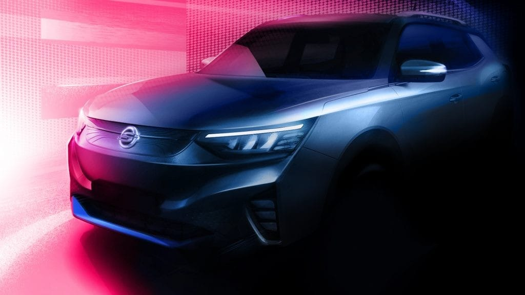 Nuovo EV SsangYong panoramica